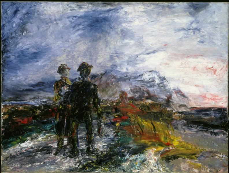 Two Travellers by Jack B. Yeats