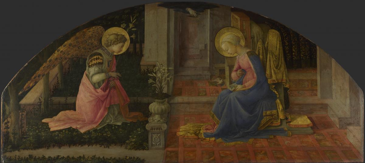 The Annunciation by Filippo Lippi