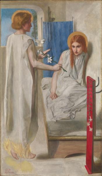 Ecce Ancilla Domini! (The Annunciation) by Dante Gabriel Rossetti