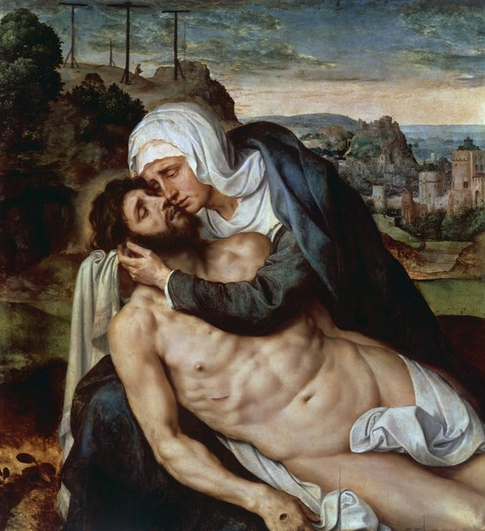 The Lamentation of Christ (Beweinung Christi) by Willem Key