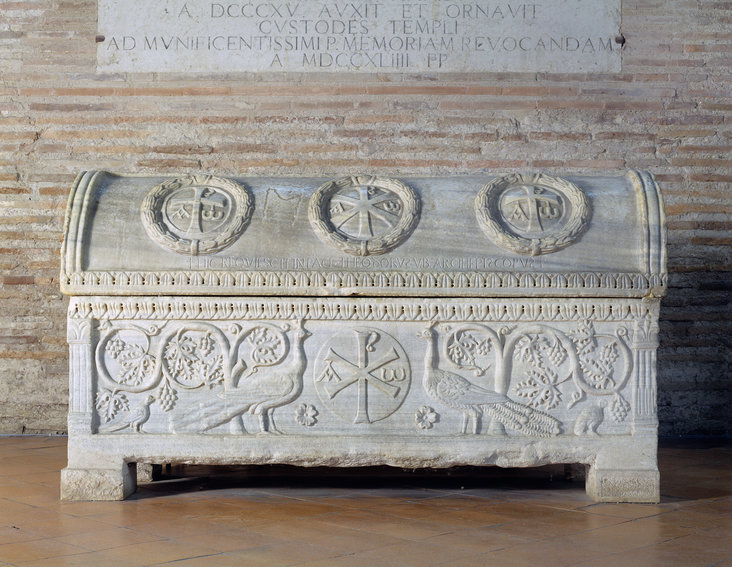 Sarcophagus of Theodore by Unknown Italian artist