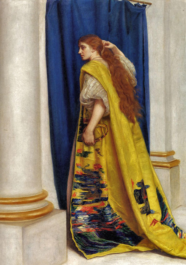 Esther by John Everett Millais