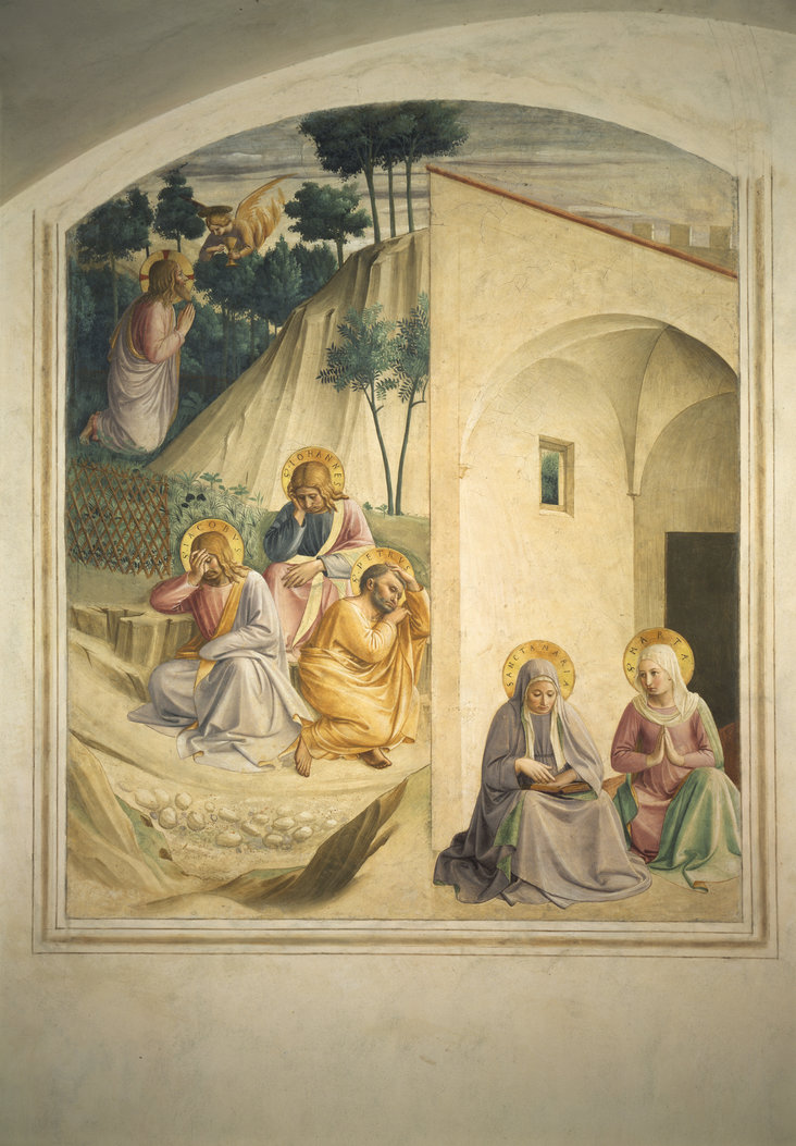 Agony in the Garden by Fra Angelico