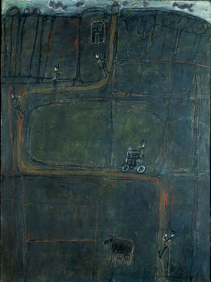 The Road of Humankind by Jean Dubuffet