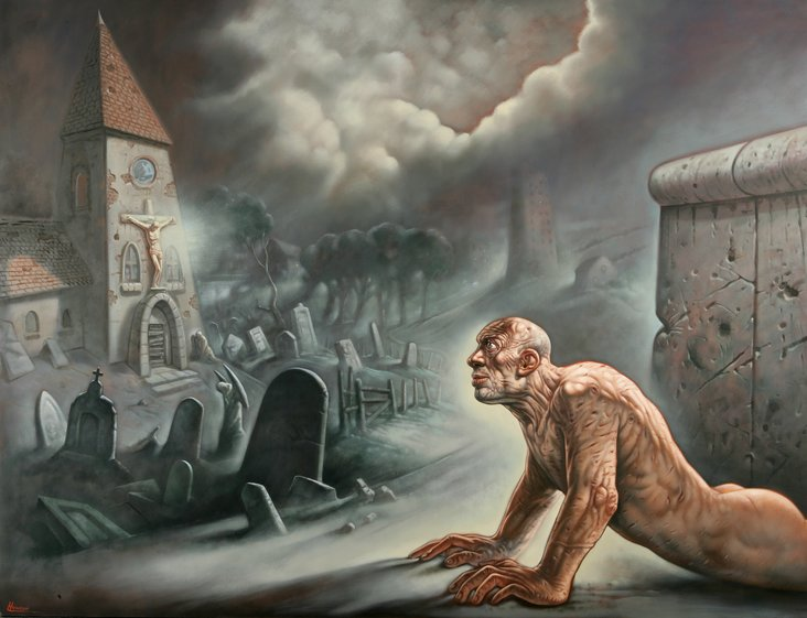 The Third Step by Peter Howson