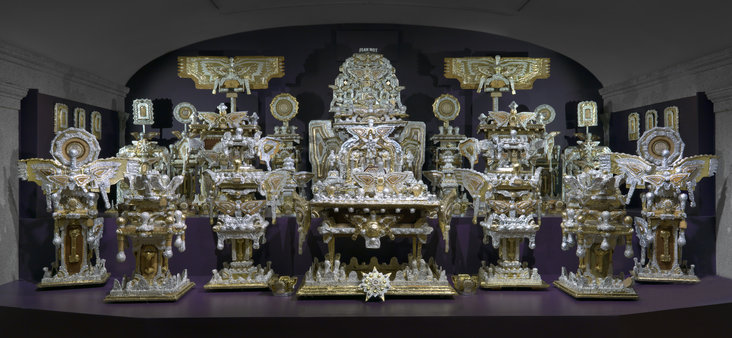 The Throne of the Third Heaven of the Nations' Millennium General Assembly by James Hampton