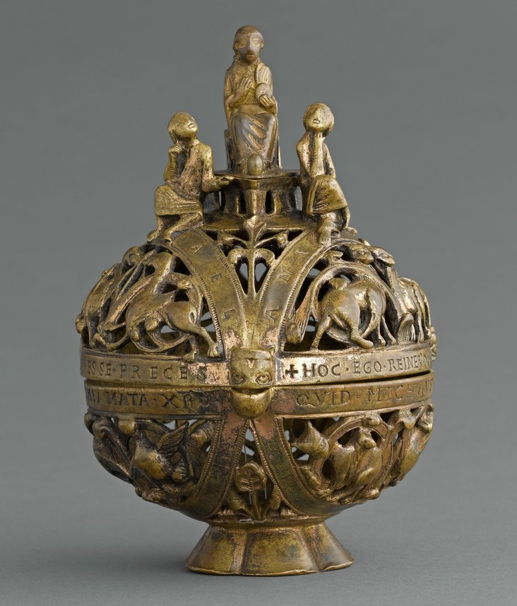 Censer depicting the Hebrews in the Fiery Furnace by Unknown artist, France