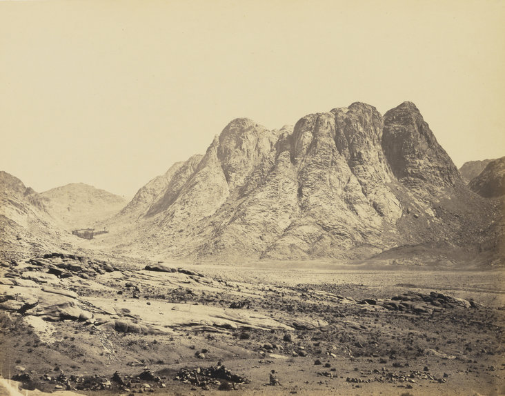Mount Horeb, Sinai by Francis Frith