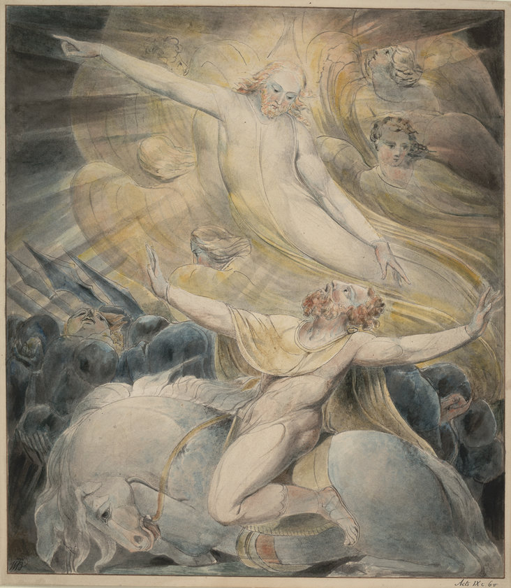 The Conversion of Saul by William Blake