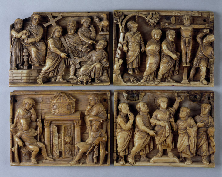 Casket, also known as the Maskell Passion Ivories by Unknown artist, Rome
