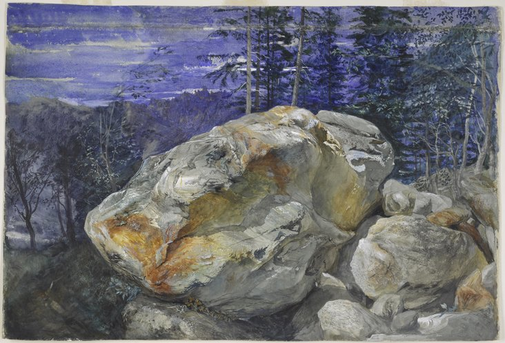Fragment of the Alps by John Ruskin
