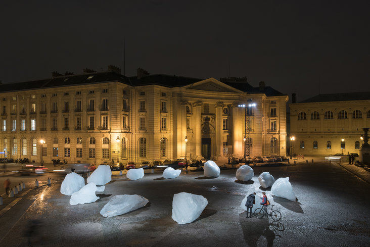 Ice Watch by Olafur Eliasson