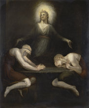 Christ Disappearing at Emmaus by Henry Fuseli