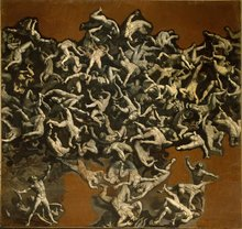 Fall of the Rebel Angels by Andrea Commodi