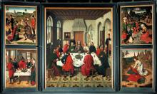 The Last Supper Altarpiece by Dieric Bouts the Elder