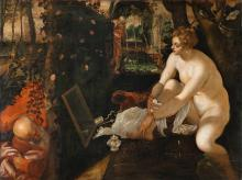 Susanna Bathing by Jacopo Tintoretto