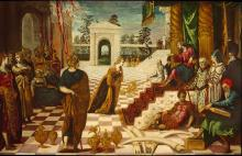 The Visit of the Queen of Sheba to Solomon by Jacopo Tintoretto