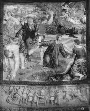 The Stoning of St Stephen by Worshop of Pieter van Aelst, from cartoon by Raphael