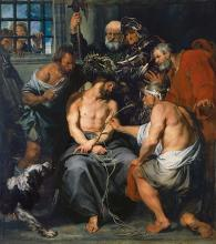 The Crowning with Thorns by Anthony van Dyck