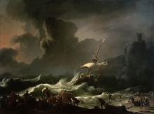 Paul's Shipwreck (Shipwreck of Apostle Paul on Malta) by Ludolf Backhuysen I