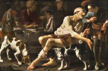 The Rich Man and the Poor Lazarus by Hendrick ter Brugghen