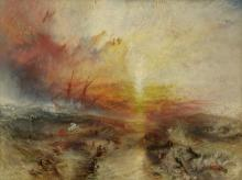 Slave Ship (Slavers Throwing Overboard the Dead and Dying, Typhoon Coming On) by Joseph Mallord William Turner