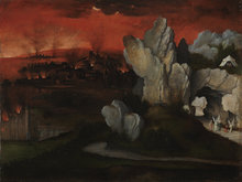 Landscape with the Destruction of Sodom and Gomorrah by Joachim Patinir