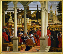 Saint Stephen's Disputation with the Elders by Vittore Carpaccio