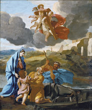 The Return of the Holy Family from Egypt by Nicolas Poussin