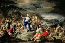 The Song of Miriam by Luca Giordano