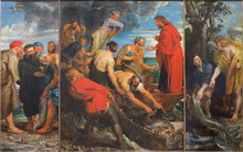 Miraculous Draft of Fishes by Peter Paul Rubens