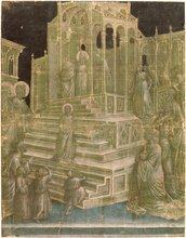 The Presentation of the Virgin in the Temple by Taddeo Gaddi