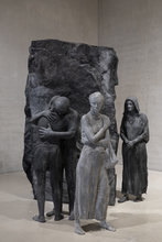 Abraham's Farewell to Ishmael by George Segal
